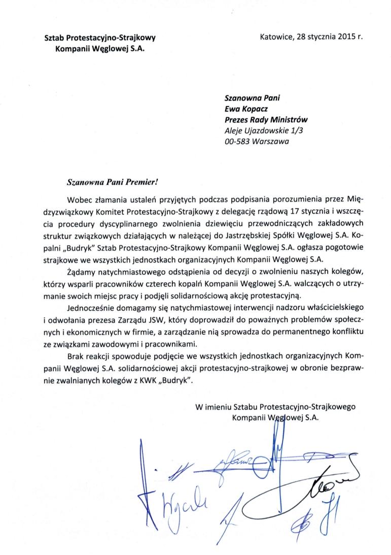Pismo-Sztabu_do-Premier-28-01-2015