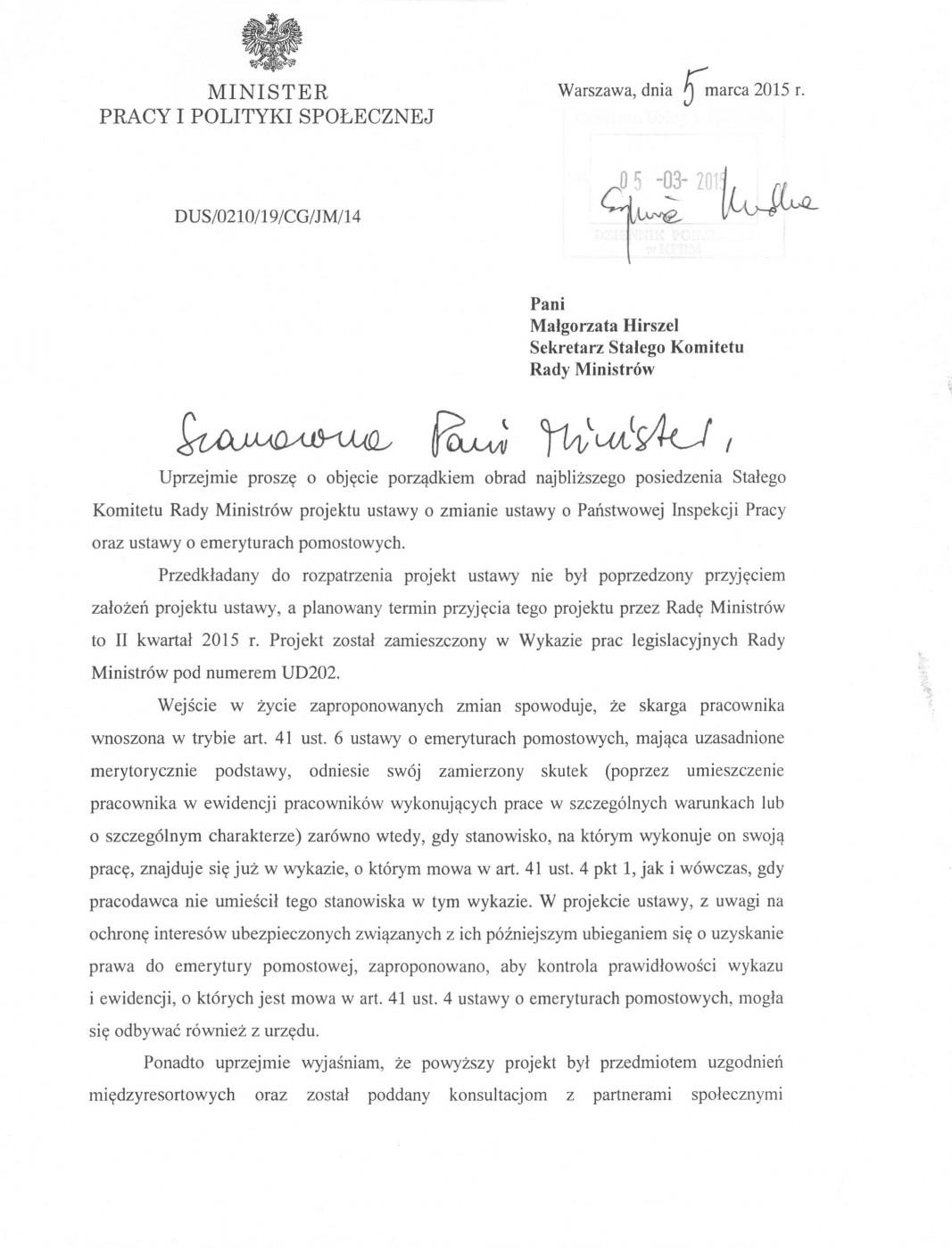 pismo MPIPS na KS RM z 5.0315_01