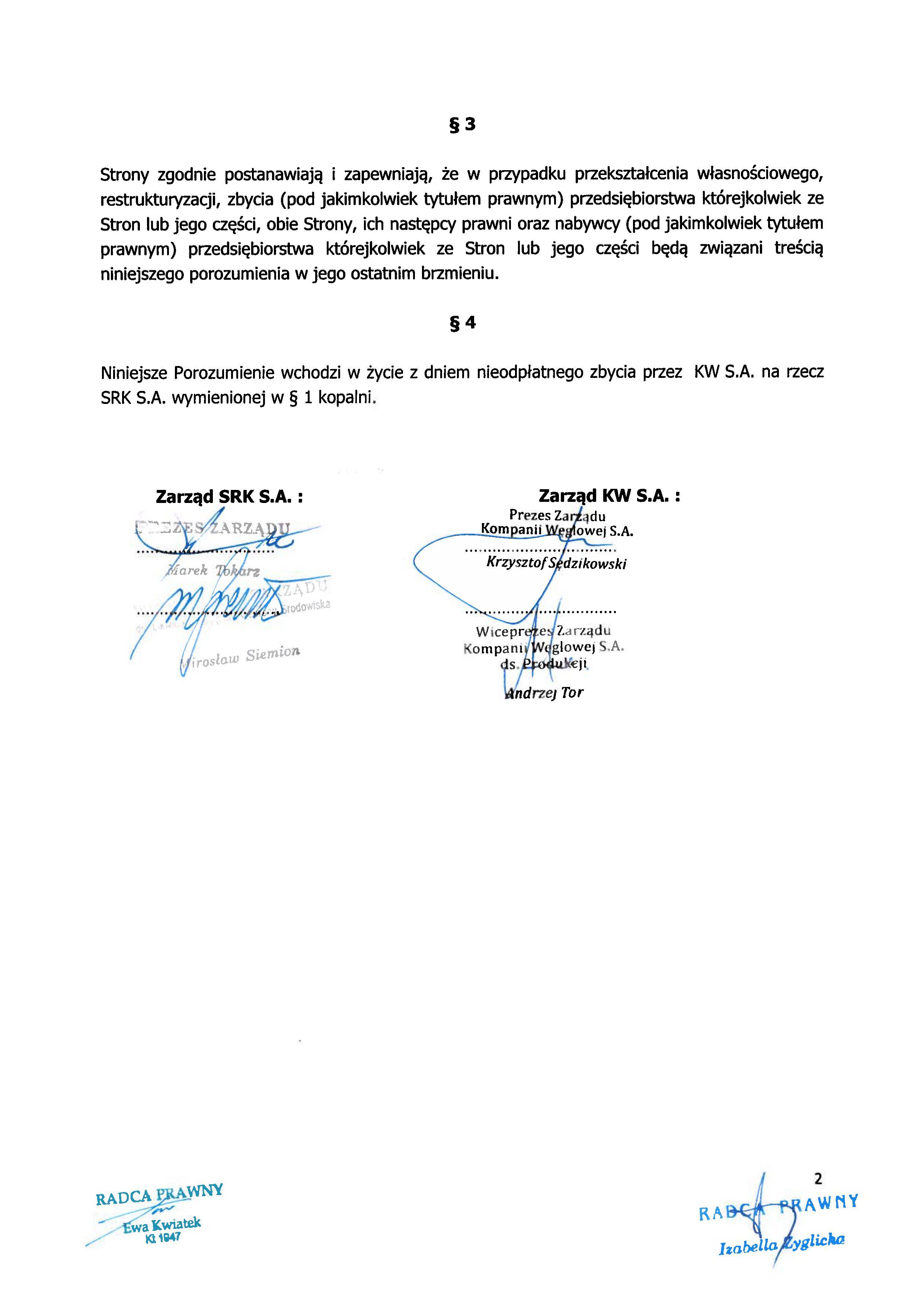 Porozumienie z SRK zapewnienie zatrudnienia Brzeszcze 150504_02
