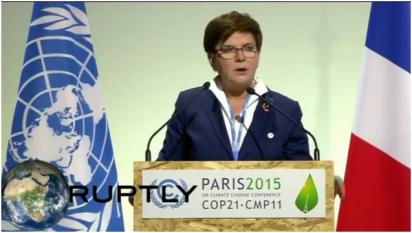 Premier Beata Szydło o polskim sukcesie na COP21 w Paryżu