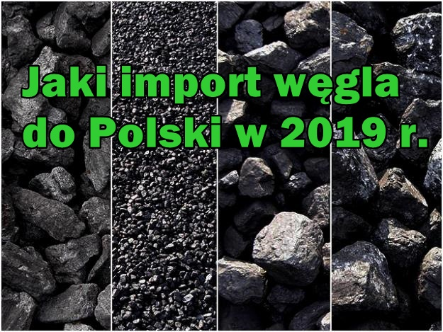 IMPORT WĘGLA W 2019 ROKU