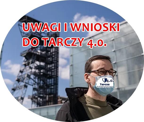 """NASZE UWAGI I WNIOSKI DO TRACZY 4.0. – nie dla antypracowniczych zapisów, tak dla emerytur stażowych i tzw. """"opcji zerowej"""""""